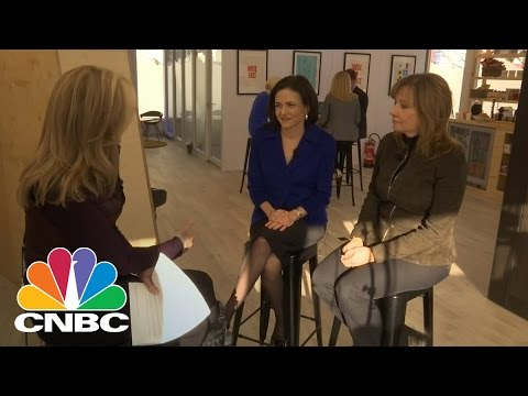 Face To Face With Facebook's Sheryl Sandberg And GM's Mary Barra | CNBC