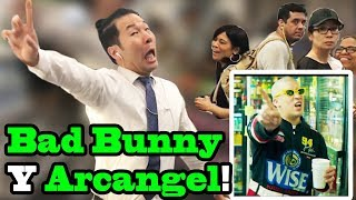 "BAD BUNNY x Arcangel - ""Original"" - SINGING IN PUBLIC!!"