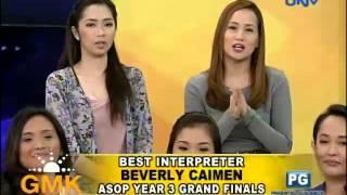 ASOP Year 3 Grand Champion: May Awa Ang Dios by Louise Lyle Robles