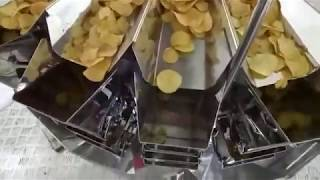 Automatic Potato Chips Manufacturing Plant