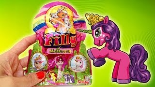 Filly The Unicorn Blind Bag Opening - Toy Review Kidstvsongs
