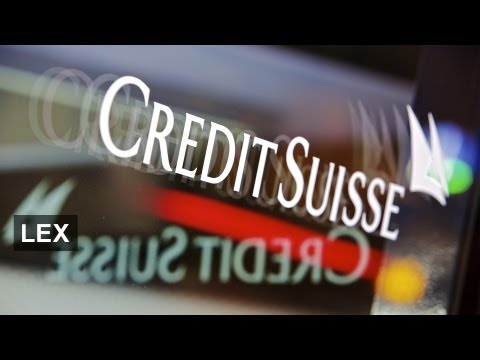 Minimal split at Credit Suisse