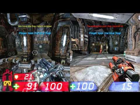 Unreal Tornament 3 Split Screen no PC