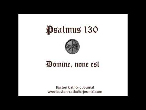 Heinrich Schütz - Domine, non est exaltatum cor meum, SWV 78
