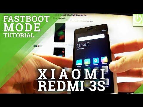 Fastboot Mode in XIAOMI Redmi 3s - Enter / Quit XIAOMI Fastboot