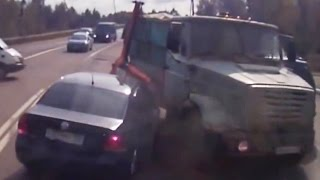Fail Compilation of Driving in Russia SEPTEMBER 2015 #3