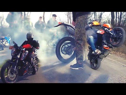Epic Saison 2K15 // Mixed shit // KTM Duke 125 // Wheelies.Bournouts