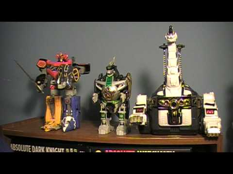 Power Rangers Season 1 Zords Toy Reviews ( Dino )