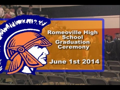 Romeoville High School Graduation 2014