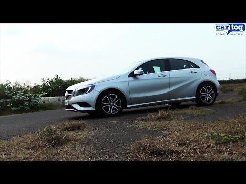 Mercedes A180 Sport video review by CarToq.com