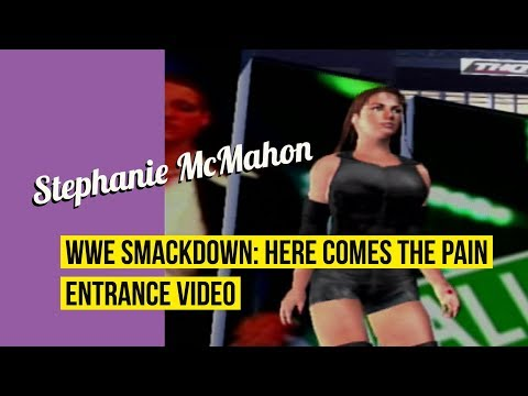 Stephanie McMahon (Attire 1) - WWE Smackdown: Here Comes The Pain Entrance thumbnail