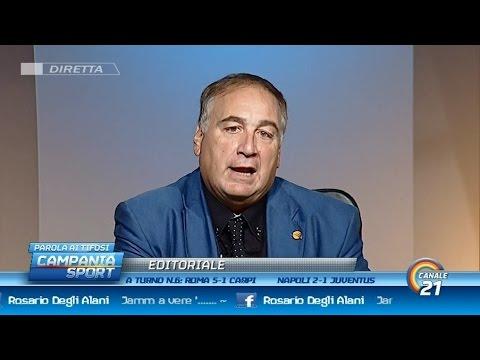 """Chiariello post Napoli-Juventus: """"Sarri aveva solo bisogno di tempo"""" - Campania Sport 26/09/15"""