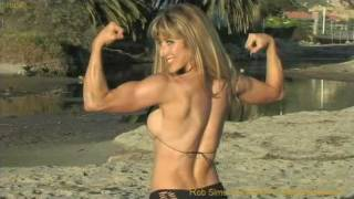 Deborah Denio IFBB Pro Fitness, bikini models first Production with Master Photographer Rob Sims