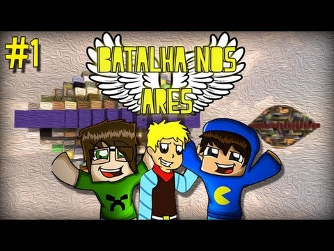Minecraft: PVP - Batalha nos Ares! #1