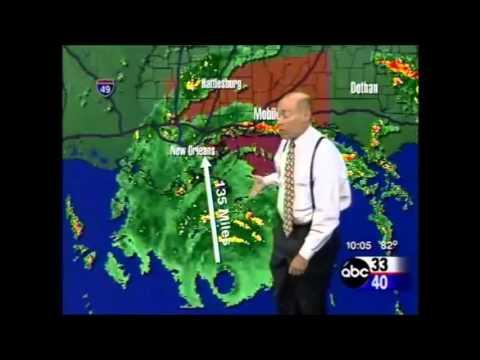 Hurricane Katrina Coverage on ABC 33/40 - 8/2005