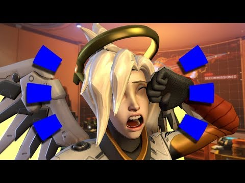 "Overwatch - Guy ""Hacks"" into Top 500 Mercy Account"