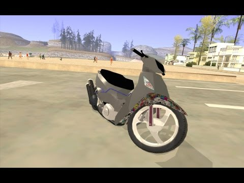 Honda Biz 125  Gta San Andreas Bike Mod  HD
