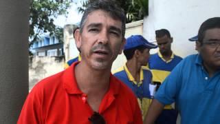 Servidores dos Correios realizam paralisação em Goiana-Trecho2