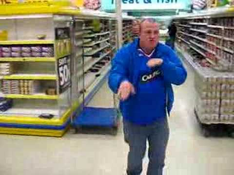 big stuarty tescos dance