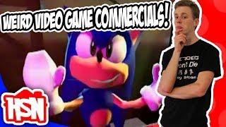 WEIRD Video Game Commercials! - Homeschooled Nerd