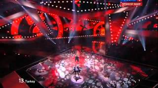 Can BONOMO- Love Me Back  2012 Eurovision  yarı final