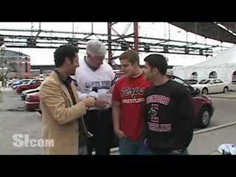 The SI Tour Guy: 2008 NCAA Wrestling Championships Video