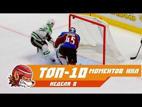 Слаломный проход Овечкина, буллит Баркова и сэйв Лундквиста: топ-10 моментов 8-ой недели НХЛ
