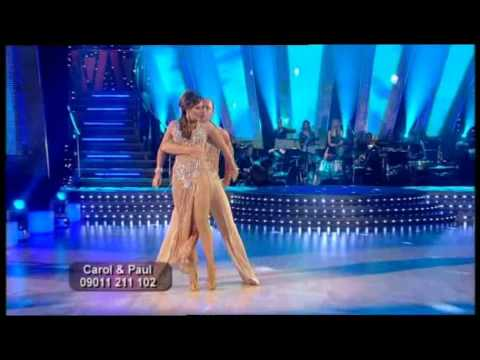 Carol Vorderman & Paul Killick Strictly Come Dancing Series 2 Week 2 Rumba.
