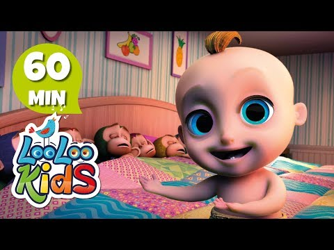 Ten in a Bed - Learn English with Songs for Children | LooLoo Kids