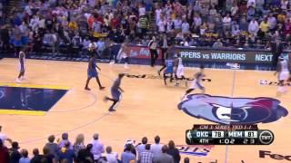 Oklahoma City Thunder vs Memphis Grizzlies Game 3   April 24, 2014   NBA Playoffs 2014