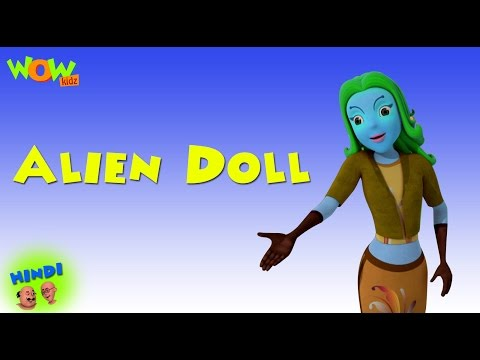 Alien Doll - Motu Patlu in Hindi WITH ENGLISH, SPANISH & FRENCH SUBTITLES thumbnail