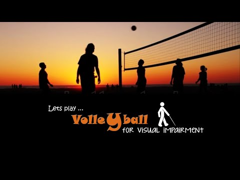 Volleyball for Visual impairment, organized by Vivekananda University, Coimbatore Campus