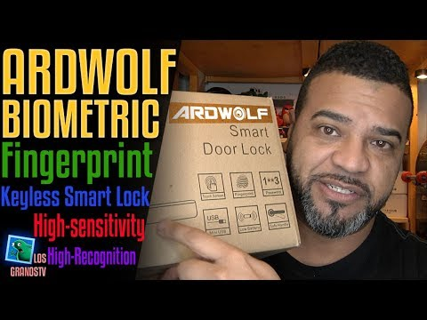 Ardwolf A20 Biometric Keyless Smart Door Lock 🚪 🔐 : LGTV Review