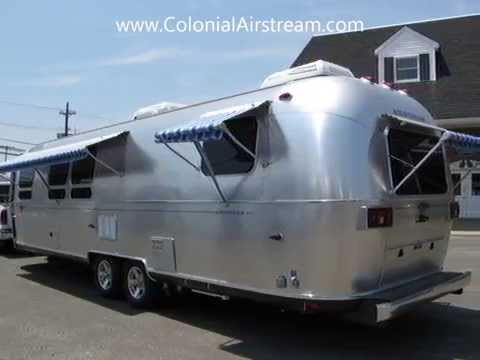 2014 Airstream Classic Limited 30W Travel Trailer For Camping Power Zip Dee Awning