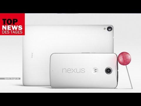 Google stellt vor: Nexus 6, Nexus 9, Android 5.0