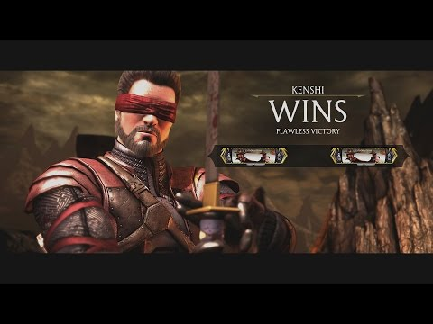 Mortal Kombat X Kenshi Fatalities Fatality