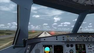 Cockpit A330-300 Engine 2 Failure landing Atlanta