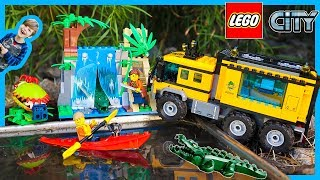 Lego City Jungle Explorers Mobil Lab Truck