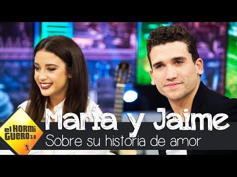 María Pedraza y Jaime Lorente explican detalladamente su historia de amor - El Hormiguero 3.0