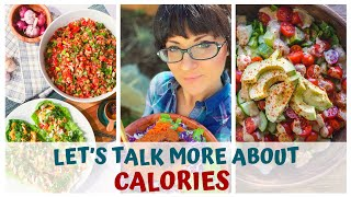 LET'S TALK MORE ABOUT CALORIES • RAW FOOD VEGAN