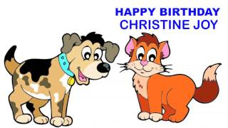 Christine Joy   Children & Infantiles - Happy Birthday