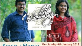 Wedding- Kevin with Manju