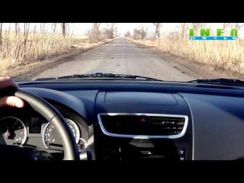 Тест-драйв автомобиля Suzuki Swift