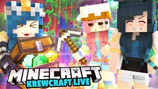EXPLORING TWILIGHT FOREST! WE FIND SO MANY DRAGON EGGS! | Krewcraft LIVE!