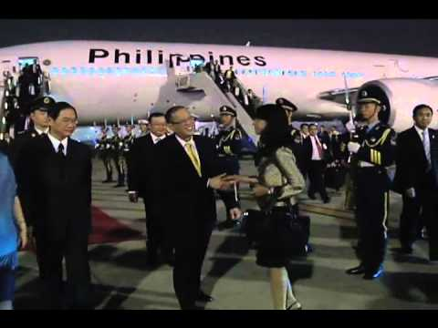 http://rtvm.gov.ph - Arrival in the People's Republic of China