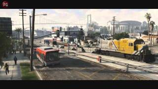Трейлек к игре GTA 5