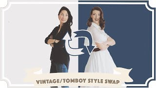 Style Swap: Tomboy to Vintage Girl [CC]
