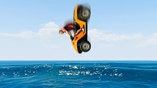 HOW DEEP CAN YOU DIVE? (GTA 5 Funny Moments)