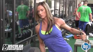 IFBB  Figure PRO Dana Ambrose    Trains Delts