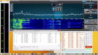 Flex 6300 ARRL SSB test 80M
